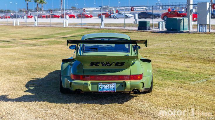 RWB Porsche 911 Shows Up At Ferrari Finali Mondiali