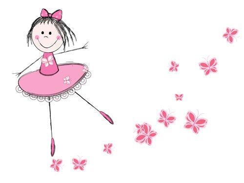 dibujos de niñas bailarinas de ballet - Buscar con Google
