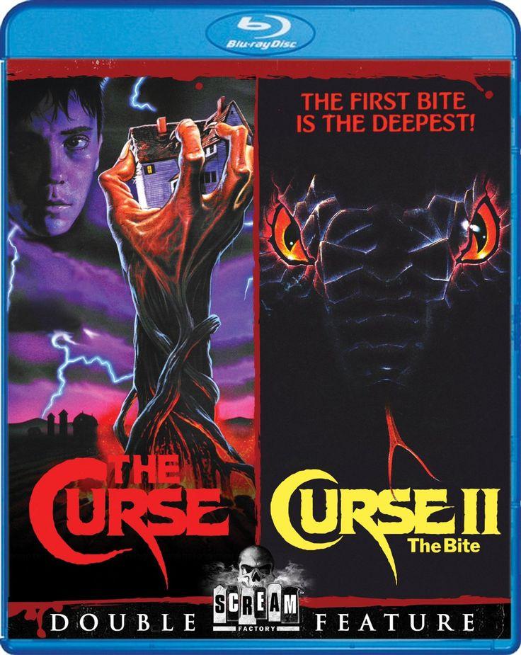 Amazon.com: The Curse / Curse II: The Bite [Blu-ray]: Wil Wheaton, Claude Akins, Jill Schoelen, David Keith: Movies & TV