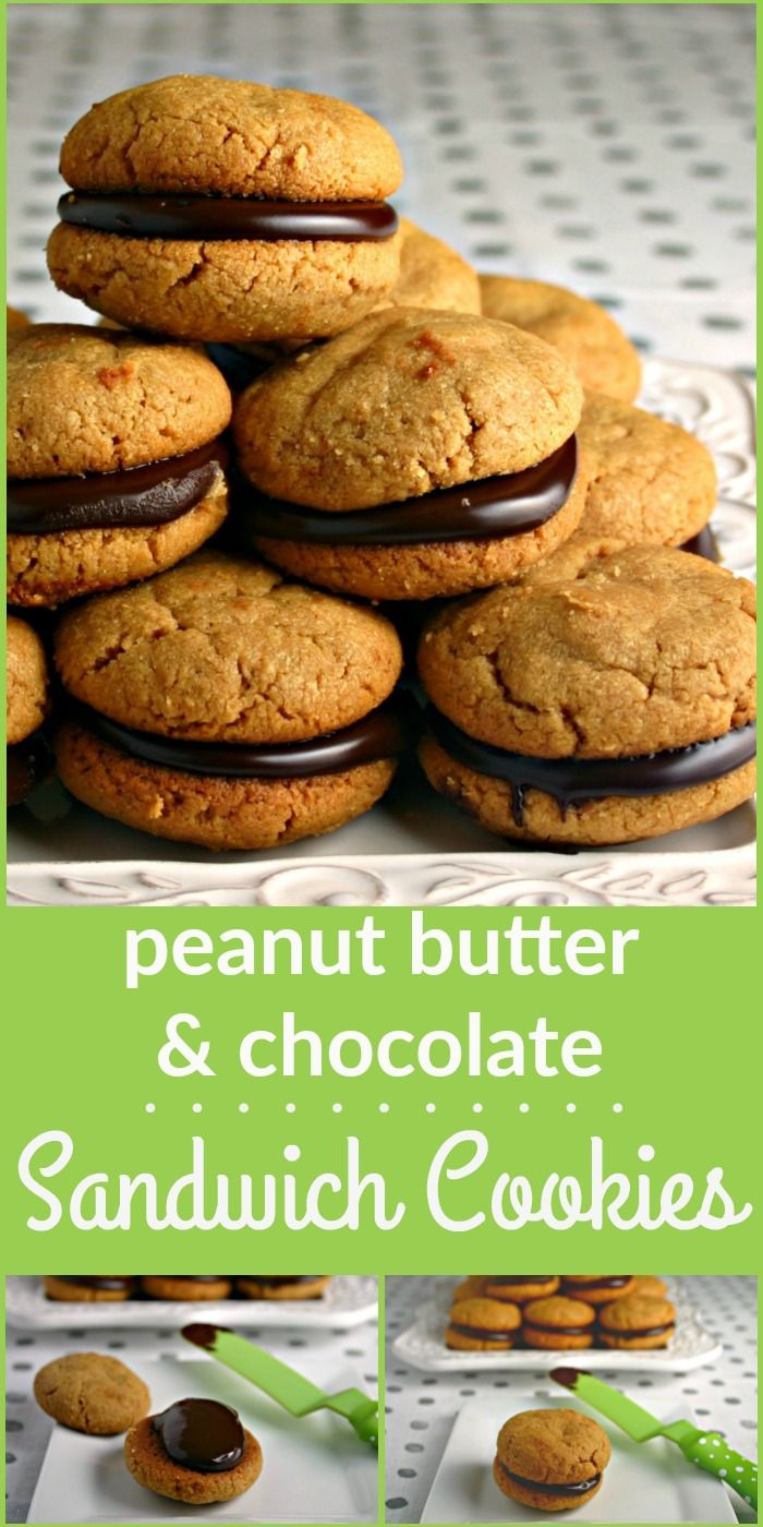 A delicious flourless, gluten-free peanut butter and chocolate cookie that everyone will love! | Life, Love, and Good Food #cookie #gluten-free