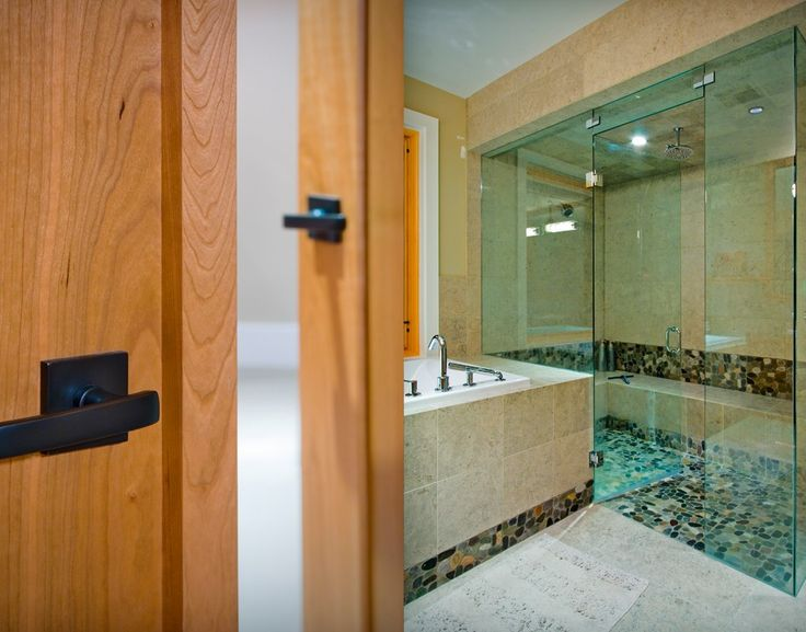 Bathroom Beauty... Custom Home - Victoria BC by Road's End Contracting