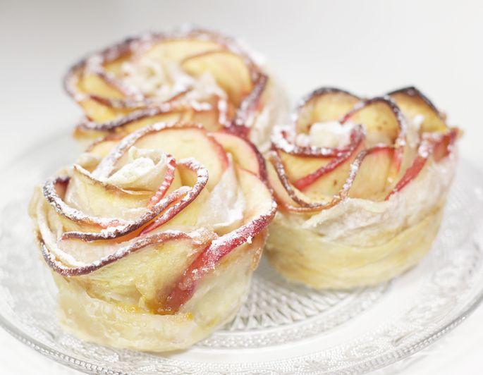 appel roosjes recept toetje dessert tussendoortje lekkers gemakkelijk zelf maken doe het zelf uitproberen food blog lifestyle by linda roze appel toetjes