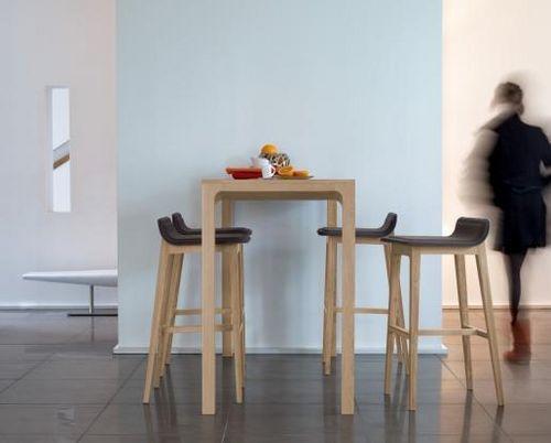 cool table mangedebout en chne laia by jeanlouis with comment fabriquer un mange debout. Black Bedroom Furniture Sets. Home Design Ideas