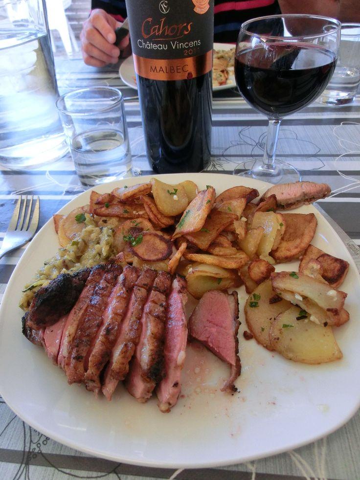 Franse maaltijd bij Ferme de Larcher