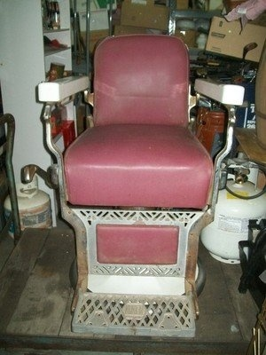 vintage koken barber chair for sale - Barber Chairs For Sale