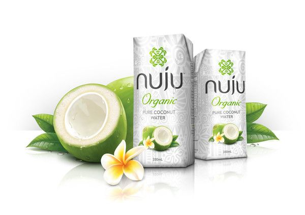 Nuju Organic Pure Coconut Water is as close to the tree as it gets! We've harvested green coconuts that are between 6 – 9 months old and extracted the pure liquid inside. We gently pasteurize (heat) then seal the Coconut Water in Tetra Pak to ensure its freshness and natural goodness.