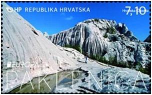 NP Paklenica - stamp