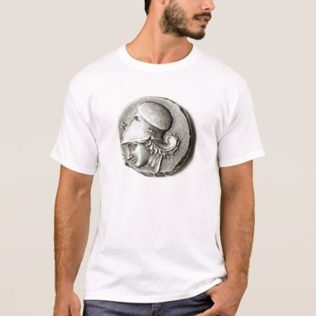 Didrachma of Heracles: obverse depicting Athena T-Shirt - tap to personalize and get yours