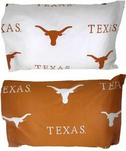 Texas Longhorns Standard Pillow Case