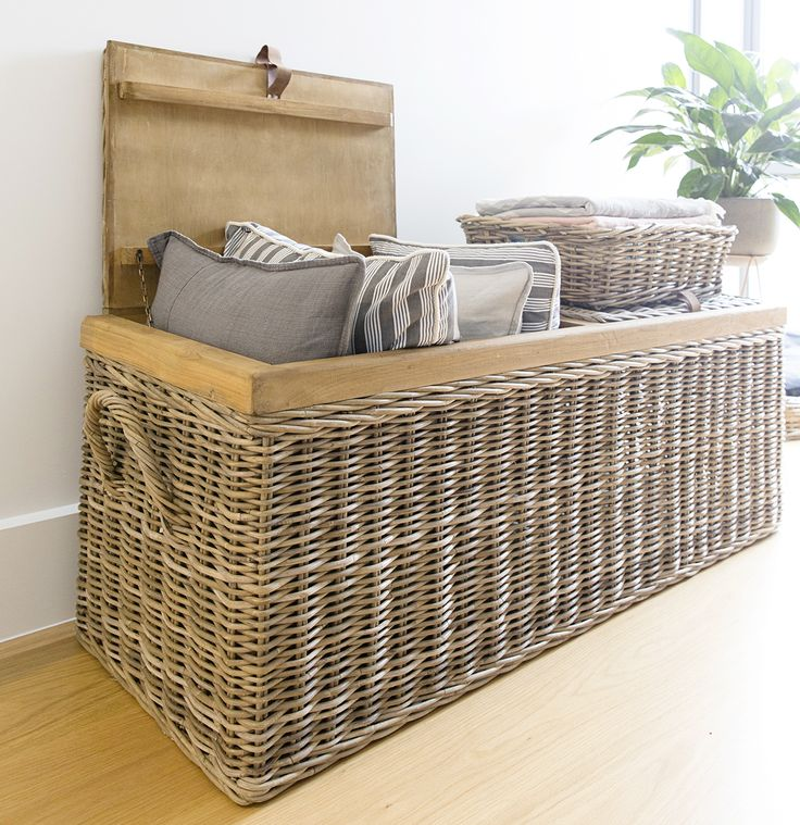 Introducing the latest addition to our premium collection of Storage Trunks….This Timber Framed Trunk has two separate lids and is ideal for storing cushions, blankets and kids toys!  www.rgimports.com.au