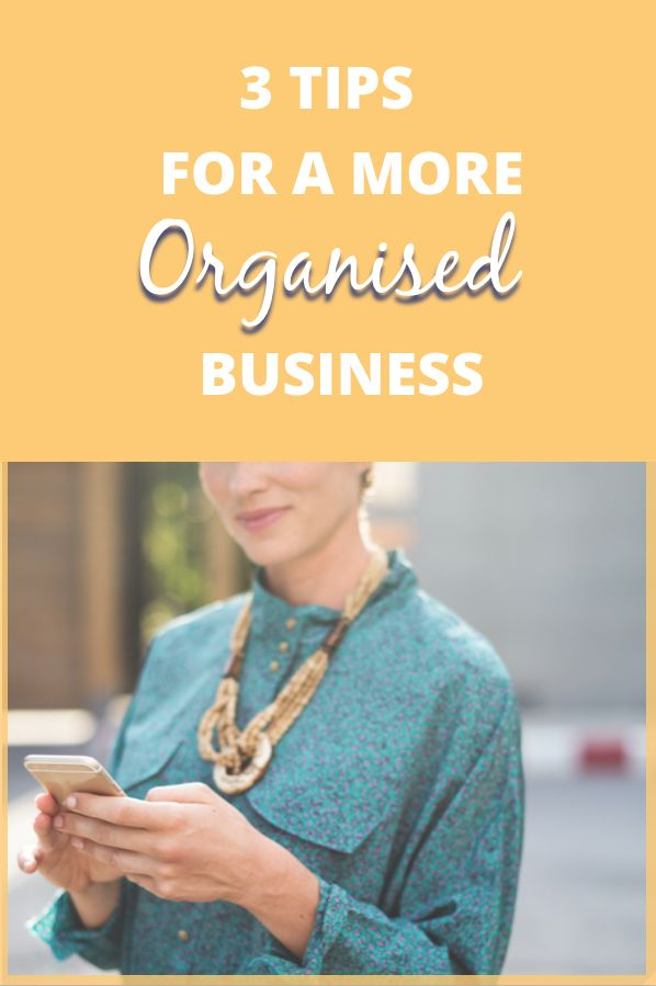 Organise Your Business For Success | Daily Planning | Goal Setting | Small Business Systems | Small Business Organisation | Business Automation | Online Business Success :Being an entrepreneur is no easy task, especially if you're flying solo. Learn how you can organise your business for success.