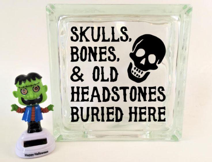 Best Vinyl Decals In My Shop Images On Pinterest Vinyl - Halloween vinyl decals for glass blocks