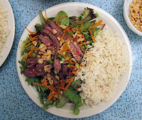 Poppytalk: Salty, Sour, Spicy: Thai Beef Salad