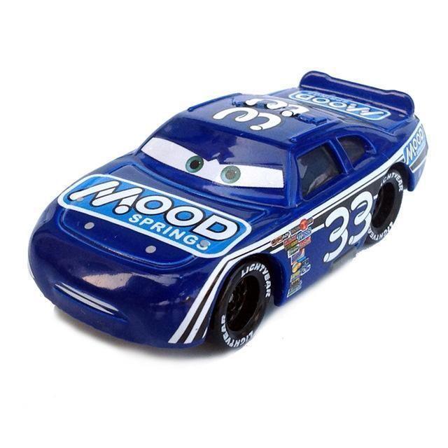 Pixar Cars 2 3 Lightning Mcqueen Champion Mater 1 55 Diecast Metal Alloy  Model Car Birthday Gift 1c65e376c660