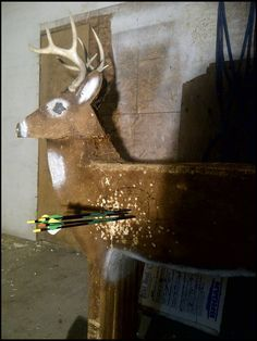 how to make your own 3D archery target