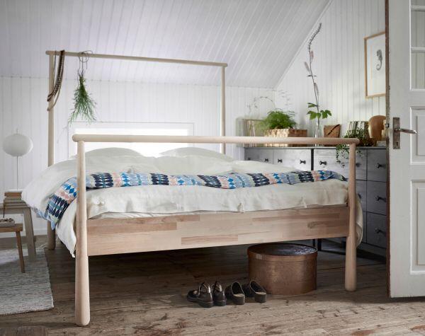 Nya Gjöra sängstomme från #Ikea Fin! Inspiration hemma Pinterest