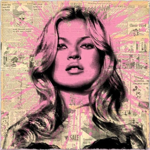 Mr Brainwash's Kate Moss