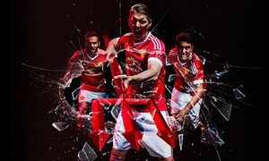 Manchester United launch retro Adidas kit following their £750m deal - http://footballersfanpage.co.uk/manchester-united-launch-retro-adidas-kit-following-their-750m-deal/