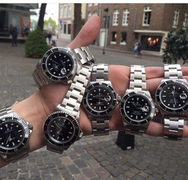 Look at all these Submariners⚫️⚪️ Rolex submariner ♛ Ref nr: 14060&14060M&16610 For more information go check our site: http://steinermaastricht.nl For questions you can email us at: info@steinermaastricht.com And you can always visit our store in Maastricht