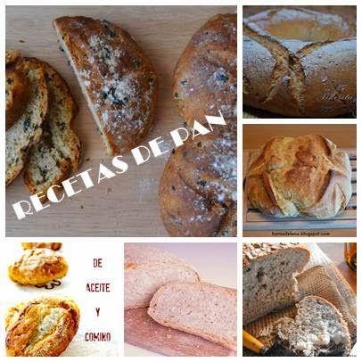 Pan de pueblo, de aceite, de avena, de cerveza... ¡Recetas de panes para todos los gustos!