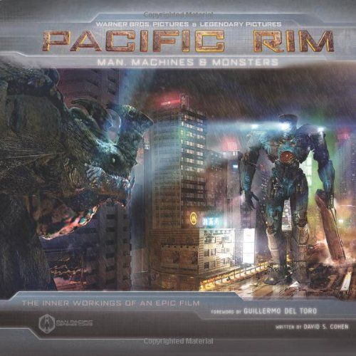 Pacific Rim: Man, Machines, and Monsters by David S Cohen,http://www.amazon.com/dp/1608871827/ref=cm_sw_r_pi_dp_rbR8sb0VVWWCCNWD