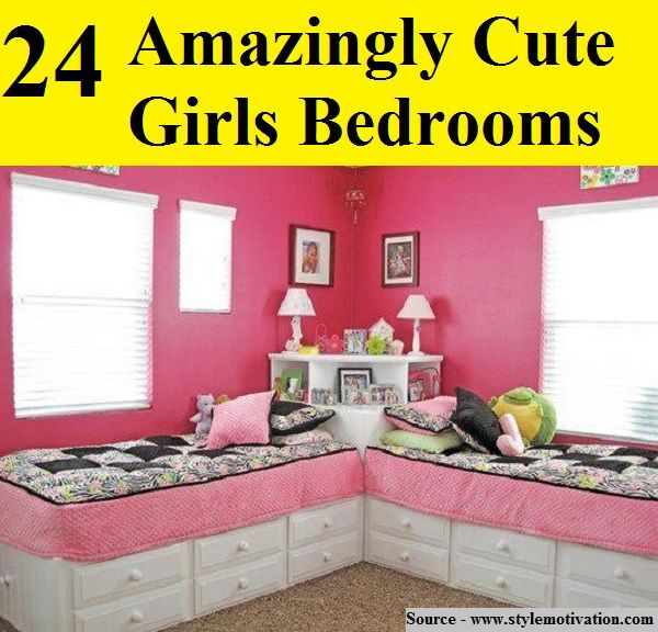 cute bedrooms for girls. 24 Amazingly Cute Girls Bedrooms For more creative tips and ideas FOLLOW Best 25  girls bedrooms on Pinterest Bedroom for