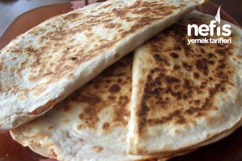 Lavaşlı Kapalı Pizza Tarifi