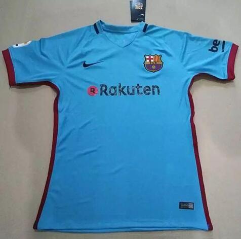 Nueva Camiseta Segunda Tailandia del FC Barcelona 2017 2018 | outlet españa