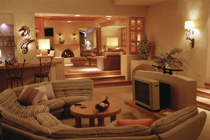 38 best step down living rooms images on Pinterest