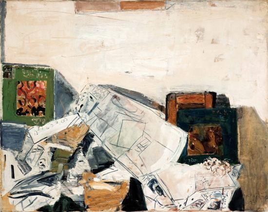 Liliane Klapisch. Disorder. O/C. 73x92cm. 1978.