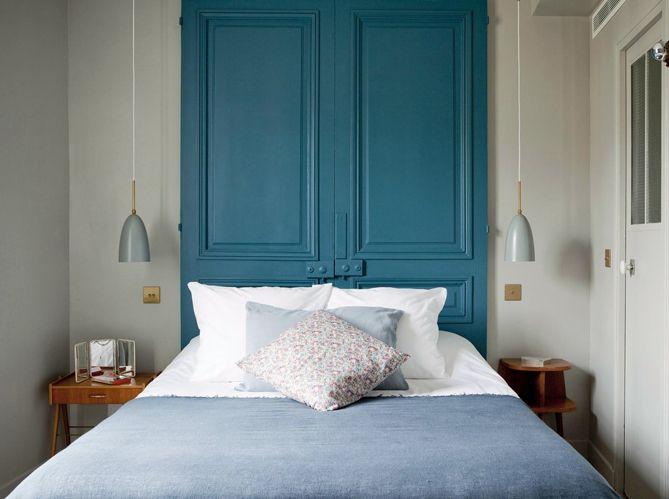 Tête de lit : les idées à piquer aux hôtels  - Elle Décoration