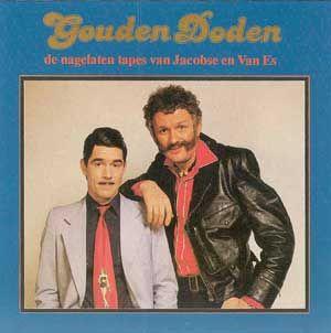 Jacobse met pin up stropdas en Van Es, creatie van Kees van Kooten en Wim de Bie