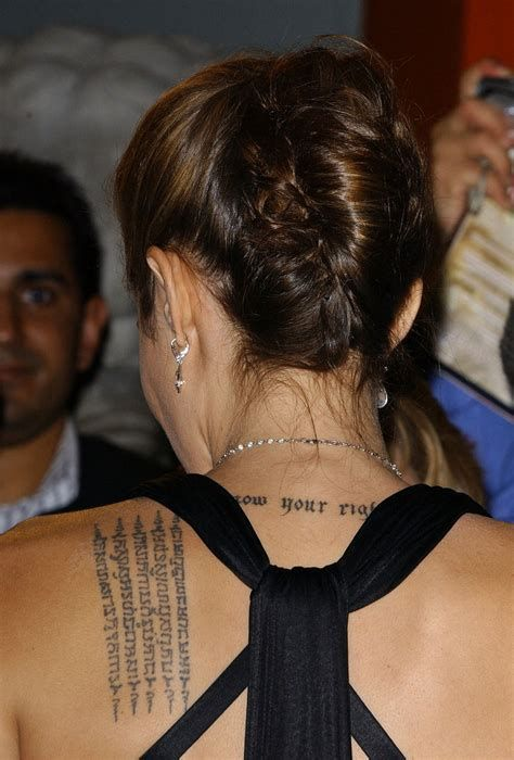 See The Source Image Angelina Jolie In 2019 Prayer Tattoo