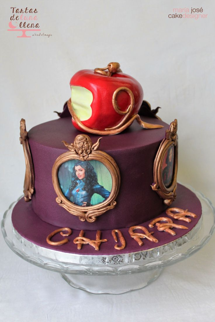 85 best DESCENDANTS CAKE images on Pinterest | Disney ...