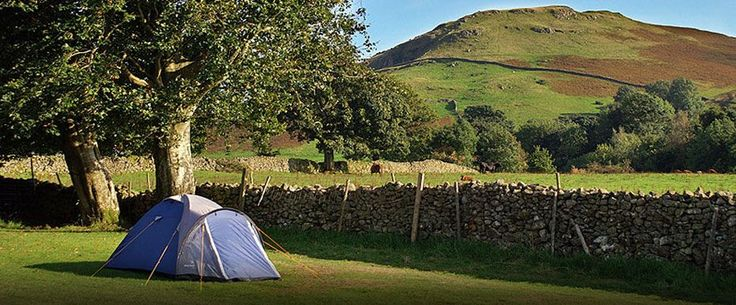 Castlerigg Hall Camp Site, Keswick, Lake District - No reservations - No groups - 2 Hours 9 Minutes from Sandbach, Cheshire