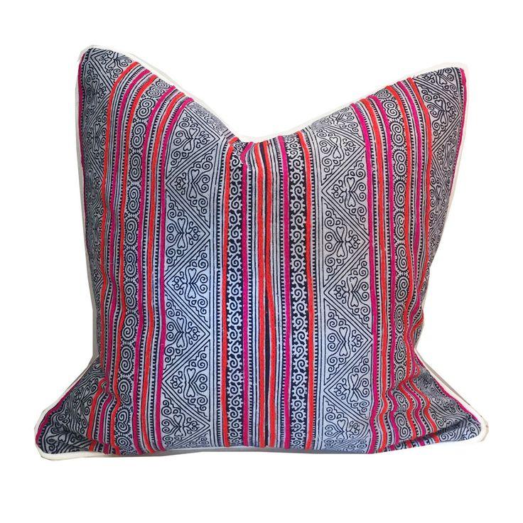 Dacia Batik Pillow – Sara Kate Studios