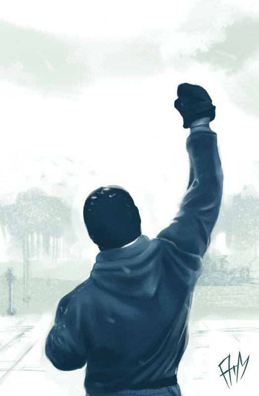 Rocky Balboa by lArmhanl on deviantART
