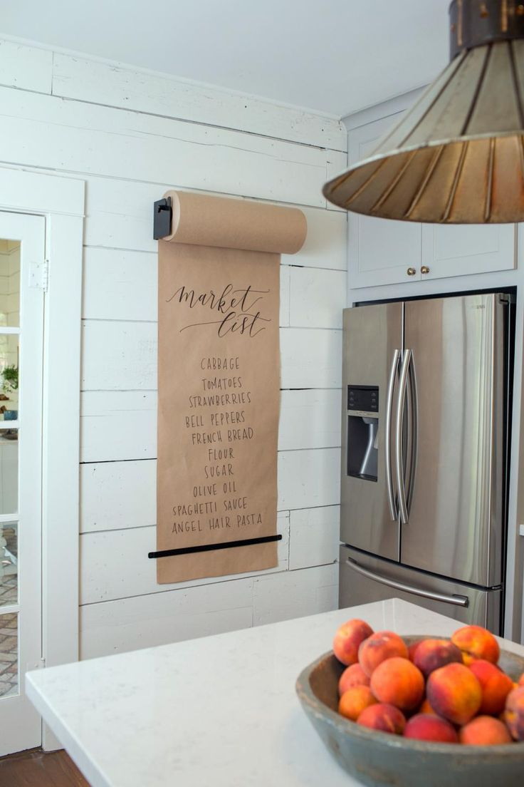 Practical decor and wall accessories make for an innovative, stunning kitchen.