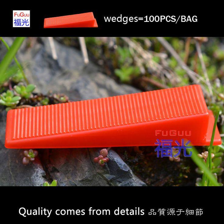 FG-2 sistema telha de nivelamento cunhas vermelhas 100 pcs/sacos