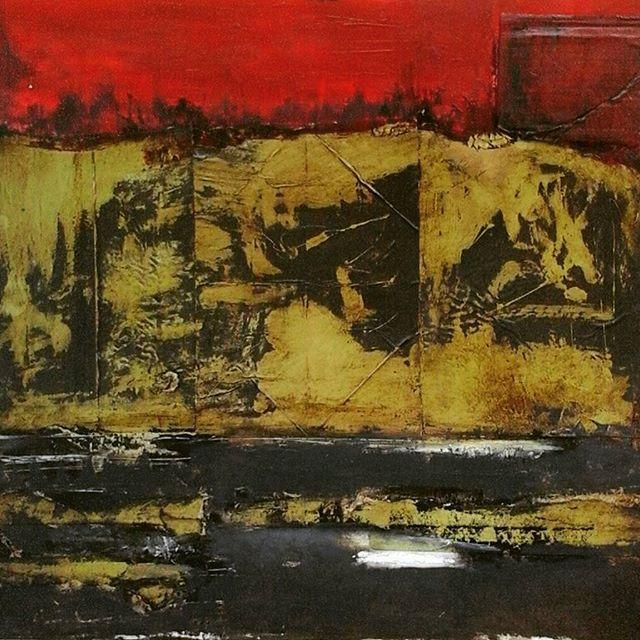 """Cartagena te amo, Cartagena te odio"" 50 55 cm.  #IrynaGragera #art #arte #pintura #cartagena #españa #spain #museo #museodelprado #artemoderno #mixmedia #oleo #modernart #paisaje #landscape #museoreinasofia #abstractart #madrid #ok_madrid #informalart #informalism #informalismo #ok_spain #tecnicamixta #artist #gallery #ok_sevilla #sevilla #oilpainting #artgallery"