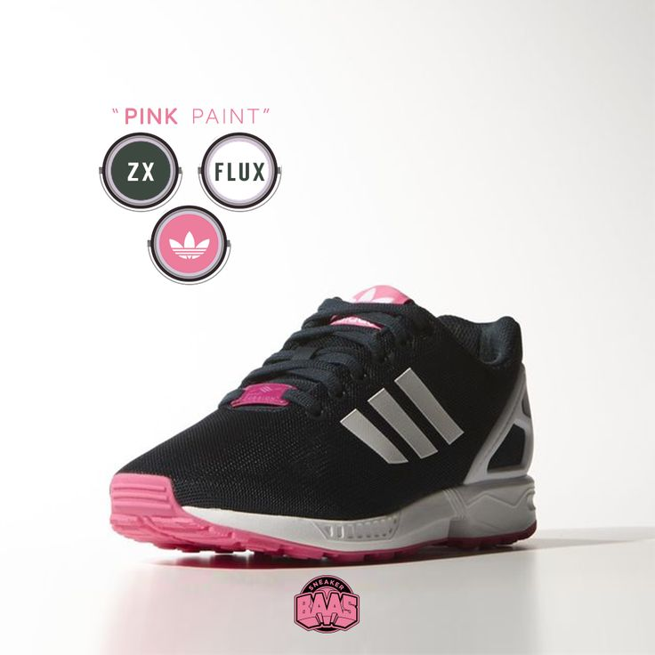 """#adidas #zxflux #adidaszxflux #zxfluxpink #pink #sneakerbaas #baasbovenbaas  Adidas ZX Flux """"Pink Paint"""" - Now available - Priced at 89.99 Euro  For more info about your order please send an e-mail to webshop #sneakerbaas.com!"""