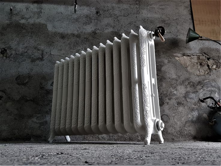 Radiateur Fonte Rococo 1900 By Keipo.