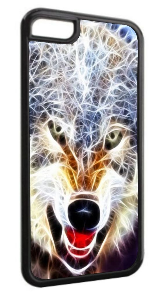Fractal Wolf Black Plastic Apple iPhone 7 Case Made in the U.S.A. High Quality Black Plastic Case compatible with the Apple iPhone 7 (Not Compatible with the iPhone 7 Plus). Permanent Quality Vibrant Flat-Printed Image. No Textured or 3D Print. Quick Processing and Shipping! Ships from the U.S.A. High Level of Customer Service. Satisfaction Guaranteed or Replacement or Refund. Jack's Outlet Inc. is the Brand Owner and Manufacturer of this item. At Jack's Outlet Inc., we take pride in...