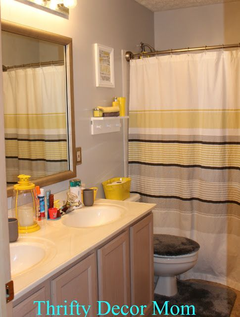 compact bathroom ideas 17 best images about gray and yellow bathroom on 11080
