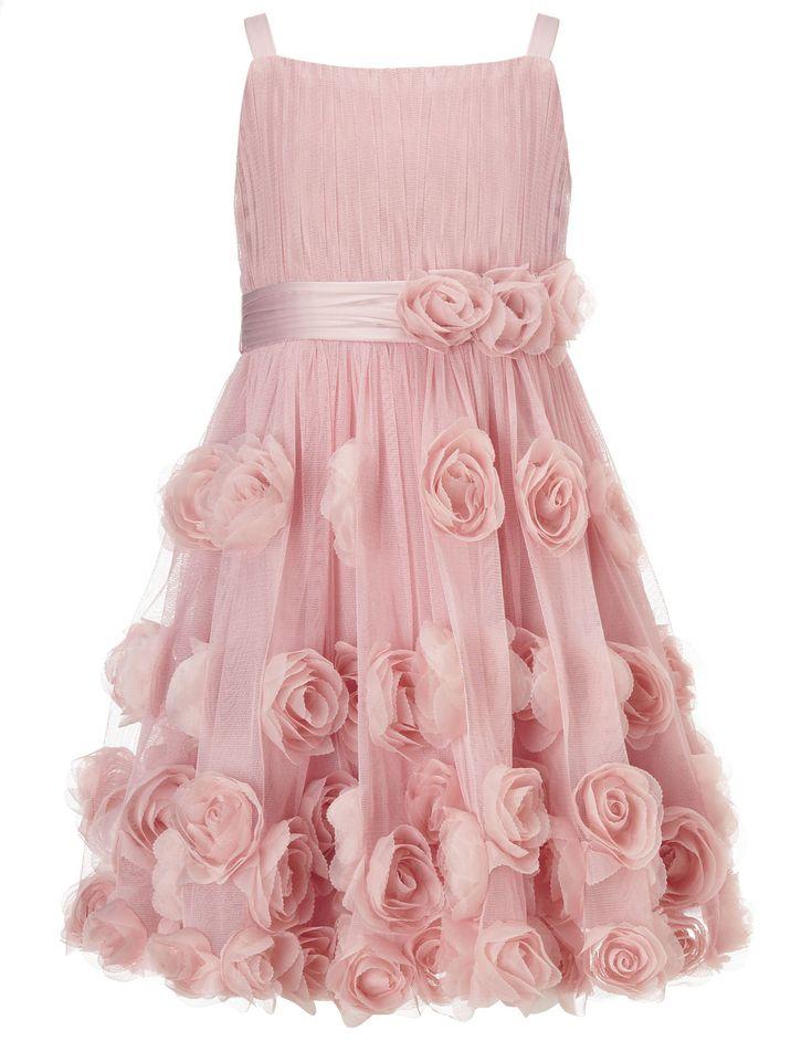 Buy Flower Girl - Rosie Cascade Dress (Pink)