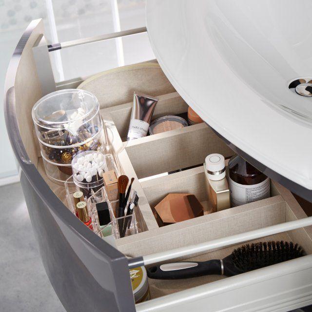 Les 25 meilleures id es de la cat gorie tiroirs de la - Ranger sa salle de bain ...