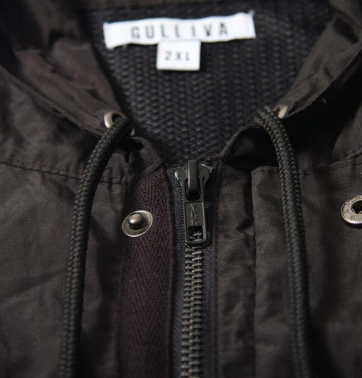 Light Hood Metal Jacket