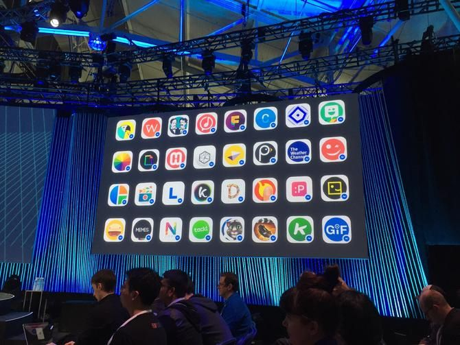 """Facebook is allowing app developers to send items like music, photos and video via its new """"Messenger Platform."""" Among the 40 app partners at its launch are ESPN and The Weather Channel.  #facebook #espn #theweatherchannel #facebookmessenger #messenger #video #apps #photos #music #smartphone #google #android"""