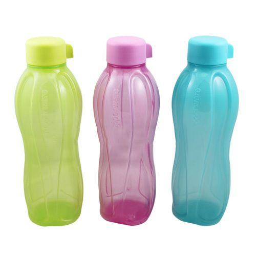Tupperware eco-flesje, ziet er leuk uit en kan in de vaatwasser.