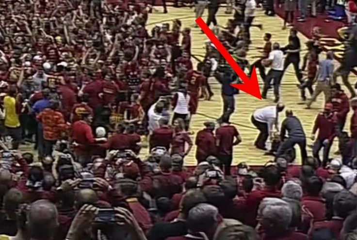Reporter suffers gruesome leg injury when Iowa State basketball fans storm the court -  ESPN  An exciting game in Ames, Iowa between Iowa State and intrastate rival Iowa, had a terrible ending as a local reporter suffered what sounds like a gruesome leg injury when fans stormed the court. Despite beating an unranked team, the fans of the fourth-ranked Cyclones decided to... | http://wp.me/p5qhzU-8AA | #Travel #bucketlist #dreamplaces